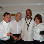 David G (bass), Chuck (drums), Victor Payano (sax), Amanda Mathews (piano)