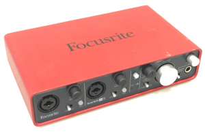 Focusrite 2i4 audio interface