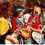 Allman Brothers in concert