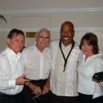 David G (bass), Chuck (drums), Victor Payano (sax), Amanda Mathews (piano)