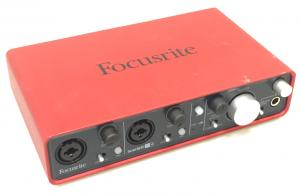 Focusrite 2i4 audio interface